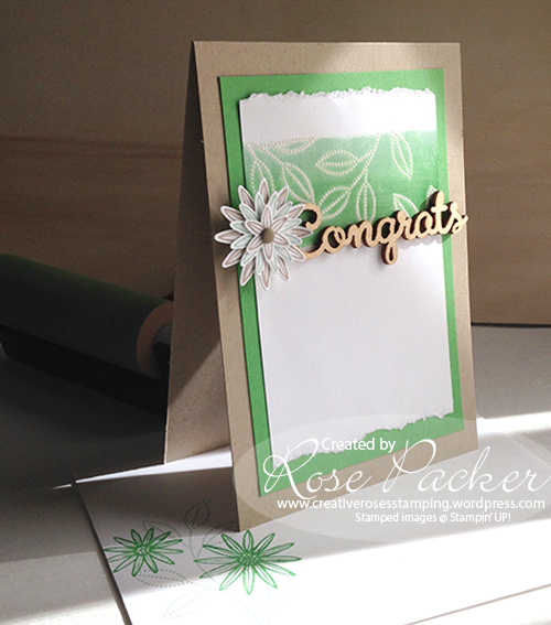 Rose Packer CreativeRoses Grateful Bunch Stampin' Up!