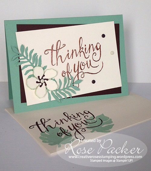 Rose Packer CreativeRoses Stampin' Up! Time of Year