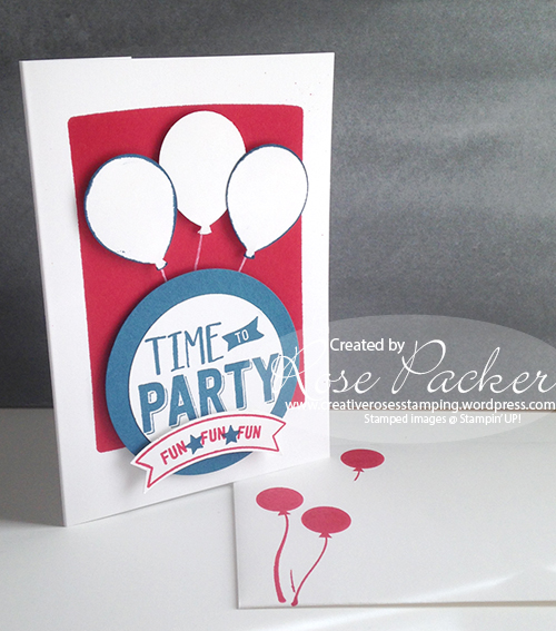 Rose Packer Creative Roses Stampin' Up! Confetti Celebration