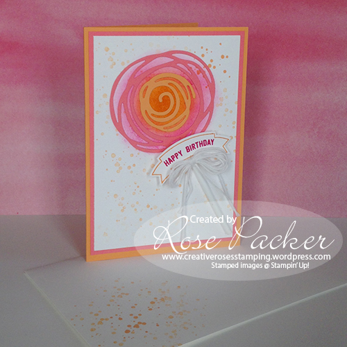 Rose Packer CreativeRoses Stampin' Up! Swirly Scribbles