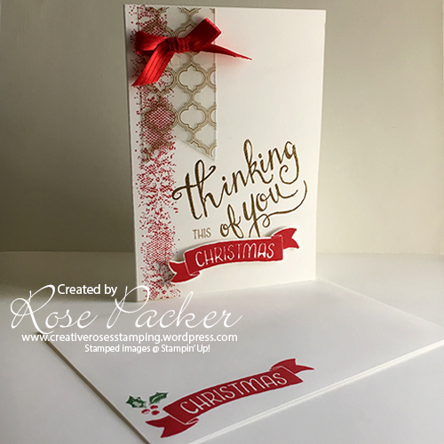 Rose Packer Creative Roses Stampin' Up! Time of Year