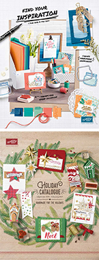 See Stampin' Up!'s catalogues