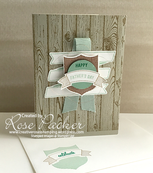 Rose Packer, Creative Roses, Stampin' Up!, Badges and banners, Bunch of banners, Banners for you
