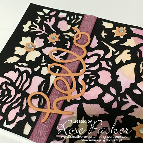 Rose Packer, Creative Roses, Stampin' Up! Detailed Floral Thinlit dies