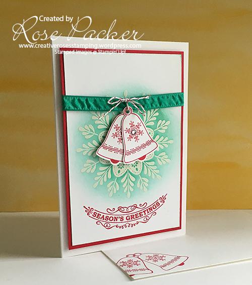 Rose Packer, Creative Roses, Stampin' Up!, Seasonal Bells