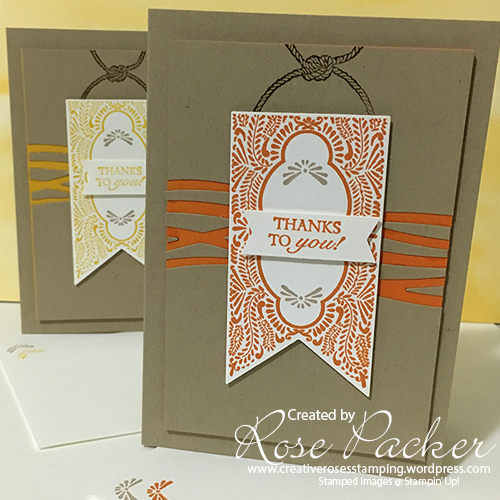 Rose Packer, Creative Roses, Stampin' Up!, Beautiful Banners