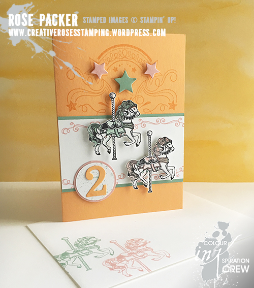 Rose Packer, Creative Roses, Stampin' Up!, Carousel Birthday, Birthday blast