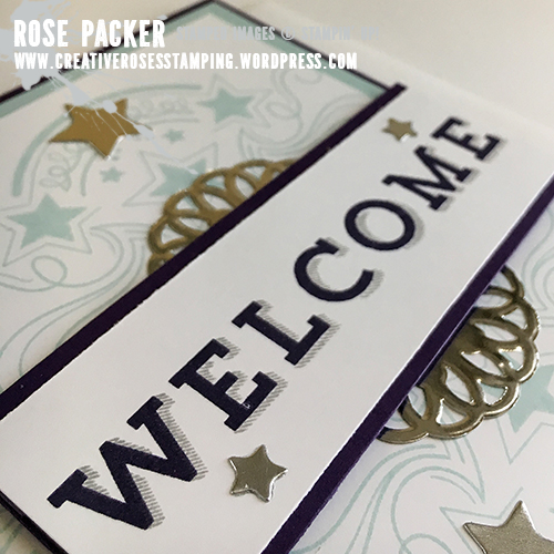 Rose Packer, Creative Roses. Stampin' Up!, Birthday Blast