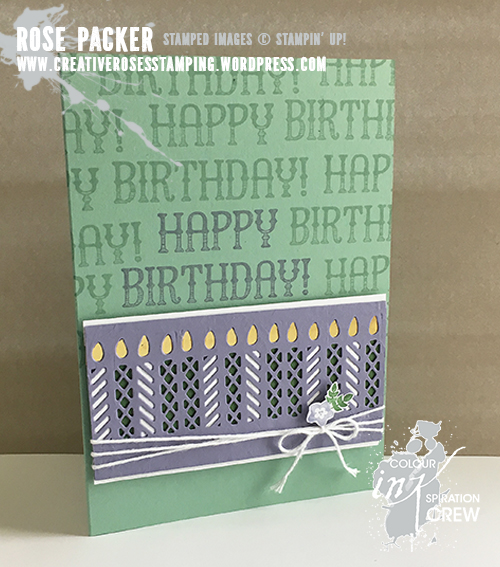 Rose Packer, Creative Roses, Stampin' Up! Window Box Thinlit die