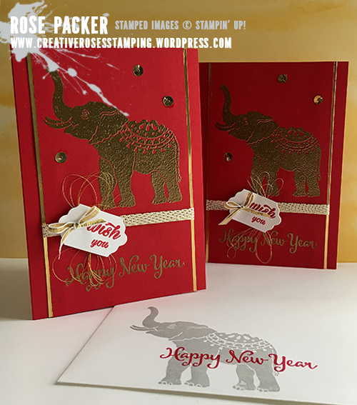 Rose Packer, Creative Roses, Stampin' Up! Lucky Elephant