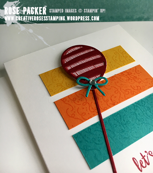 Rose Packer, Creative Roses, Stampin' Up! Balloon Adventure