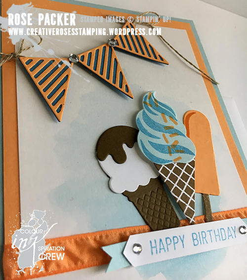 Rose Packer, Creative Roses, Stampin' Up! Cool Treats