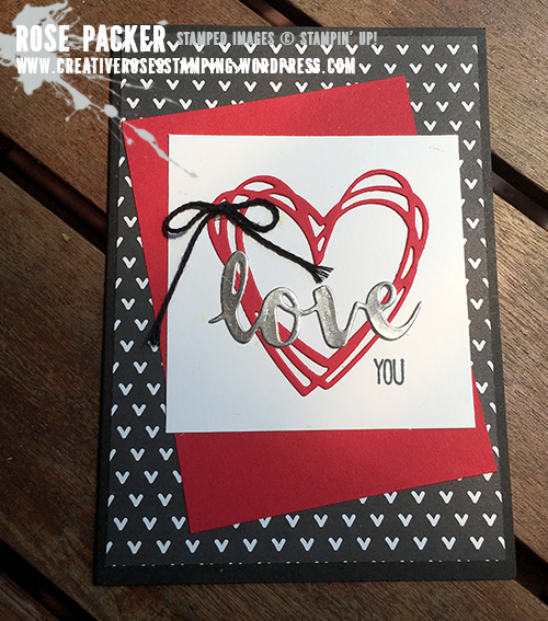 Rose Packer, Creative Roses, Stampin' Up! Sunshine Wishes