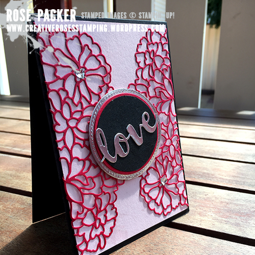 Rose Packer, Creative Roses, Stampin' Up! So Detailed thinlits