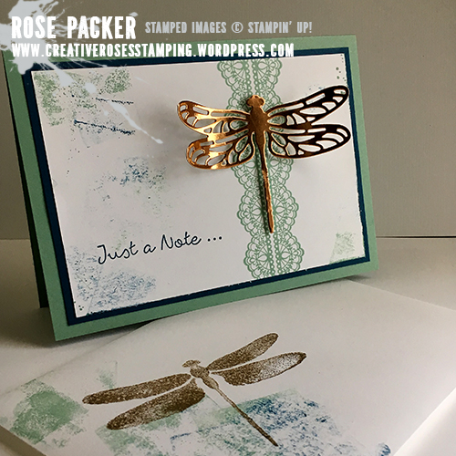 Rose Packer, Creative Roses, Stampin' Up! Dragonfly Dreams
