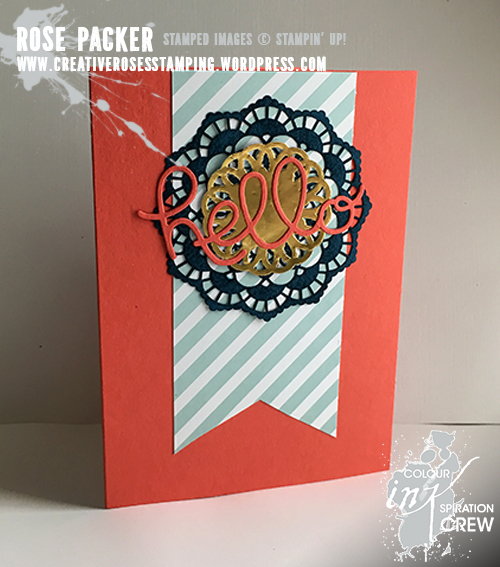 Rose Packer, Creative Roses, Stampin' Up! Hello You thinlit dies