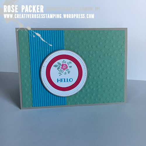 Rose Packer, Creative Roses, Stampin' Up!, Bloomin' Love