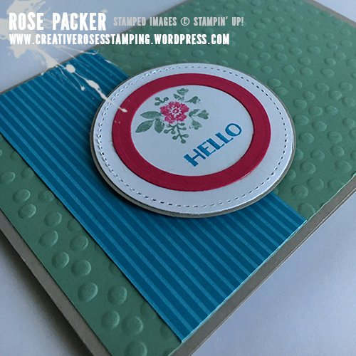 Rose Packer, Creative Roses, Stampin' Up! Bloomin' Love