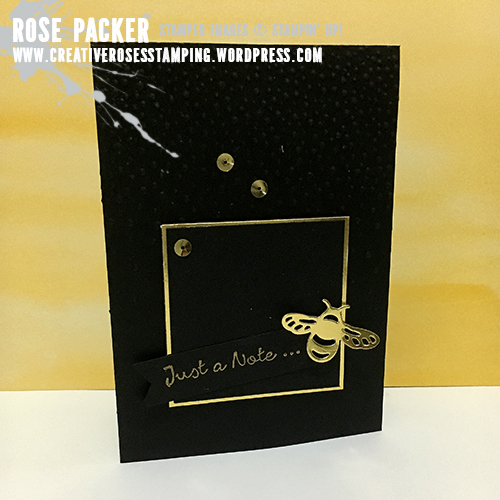 Rose Packer, Creative Roses, Stampin' Up!, Detailed Dragonflies thinlits