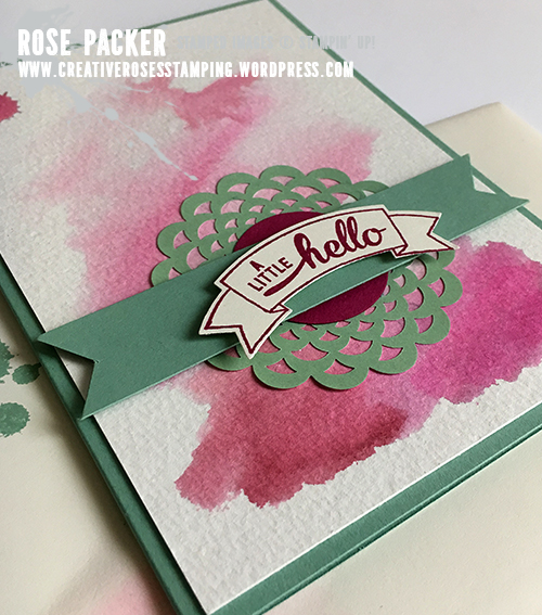 Rose Packer, Creative Roses, Stampin' Up!
