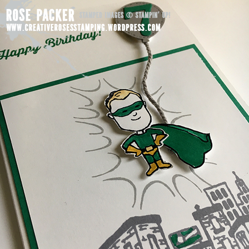 Rose Packer, Creative Roses, Stampin' Up!, Everyday Hero