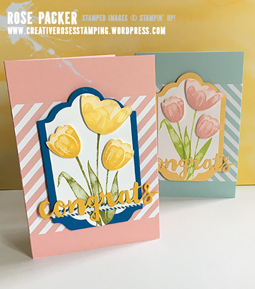 Rose Packer, Creative Roses, Stampin' Up!, Tranquil Tulips