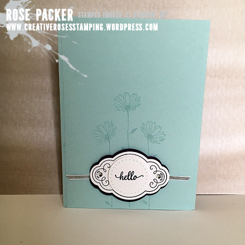 Rose Packer, Creative Roses. Stampin' Up! Label Me Pretty, Pretty Label, Eastern Beauty