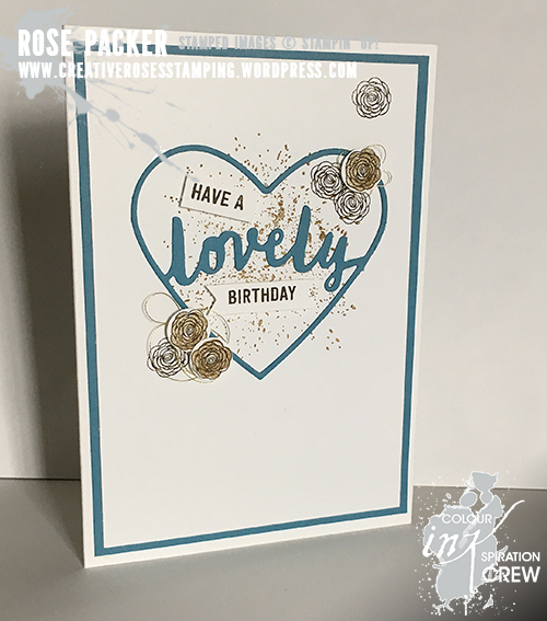 Rose Packer, Creative Roses, Stampin' Up! Lovely Word thinlit dies, Happy Birthday Gorgeous stamp set