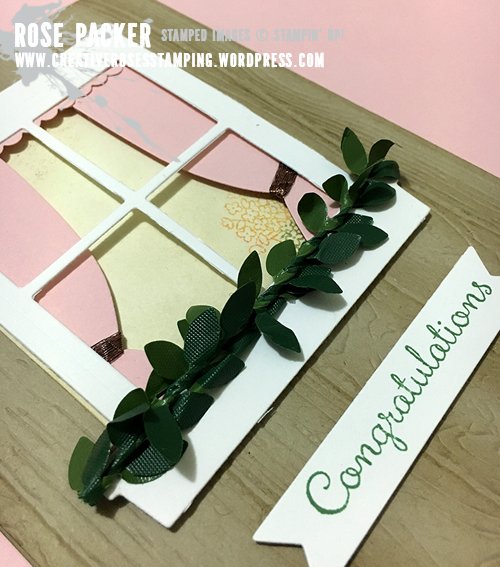 Rose Packer, Creative Roses, Stampin' Up! Hearth & Home, Boxwood Wreaths