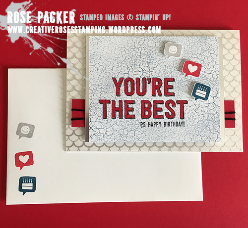 Rose Packer, Creative Roses, Stampin' Up! You're Delightfully