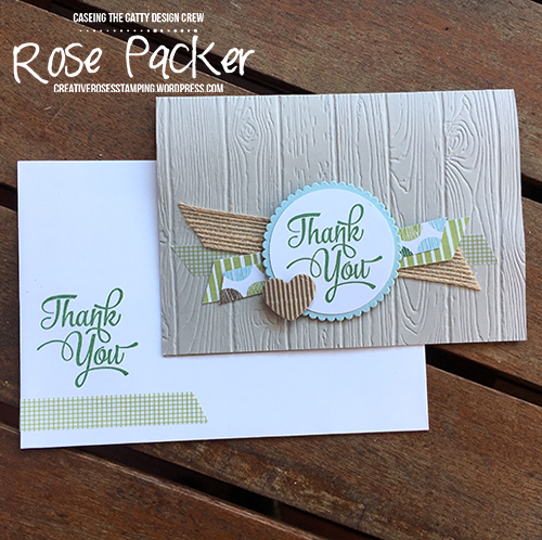Rose Packer, Creative Roses, Stampin' Up! One Big Meaning