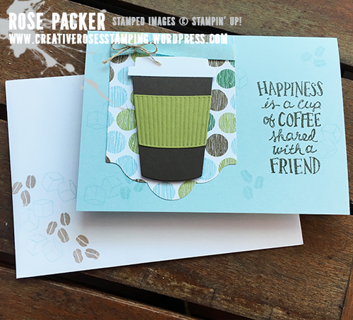 Rose Packer, Creative Roses, Stampin' Up! Coffee Break