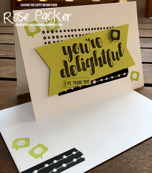 Rose Packer, Creative Roses, Stampin' Up! You're Delightful