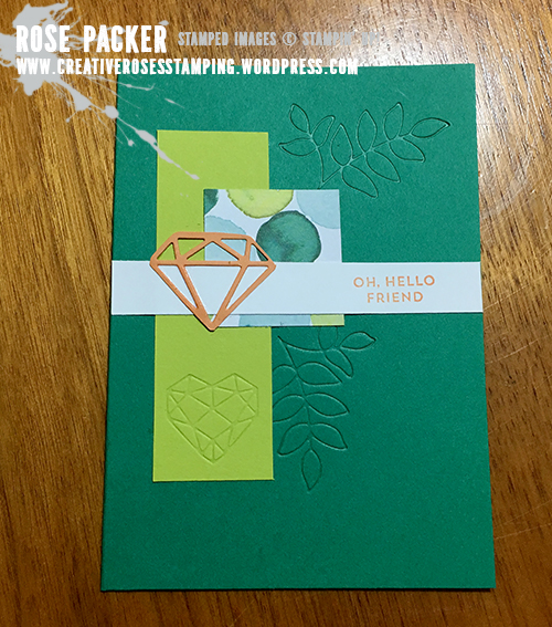 Rose Packer, Creative Roses, Stampin' Up! Naturally Eclectic Suite