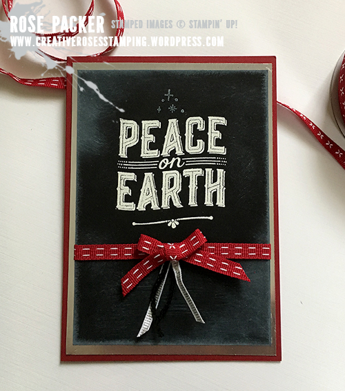 Rose Packer, Creative Roses, Stampin' Up! Carols of Christmas