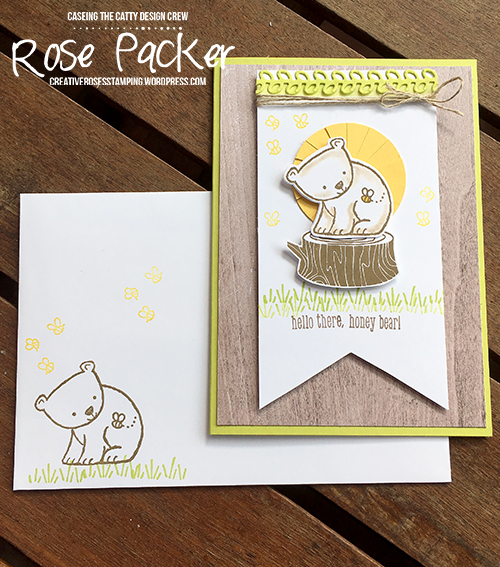 Rose Packer, Creative Roses, Stampin' Up!, A Little Wild, Little Loves Framelits