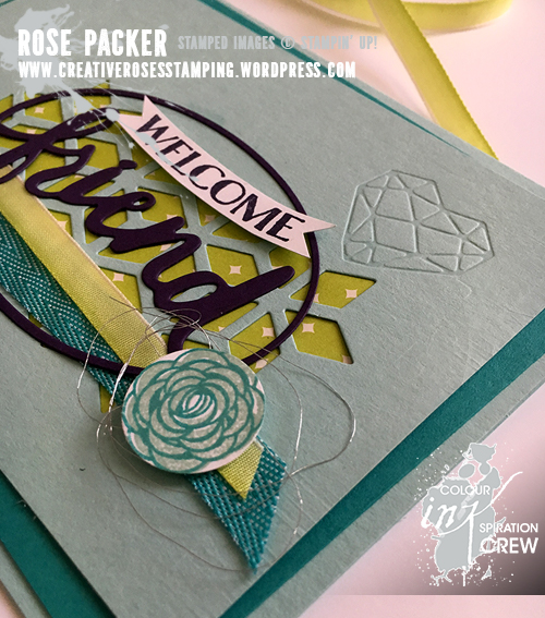 Rose Packer, Creative Roses. Stampin' Up!, Lovely Words thinlit dies, Eclectic Layers Thinlits