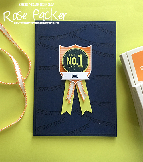Rose Packer, Creative Roses, Stampin' Up!, Best Badge, Badges and Banners