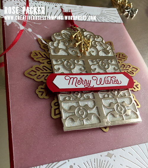Rose Packer, Creative Roses, Stampin' Up!, Detailed Gate Thinlit, Year of Cheer suite
