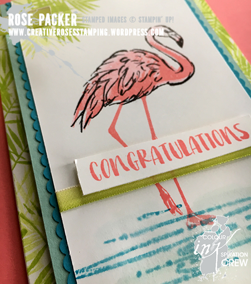 Rose Packer, Creative Roses, Stampin' Up! Fabulous Flamingo