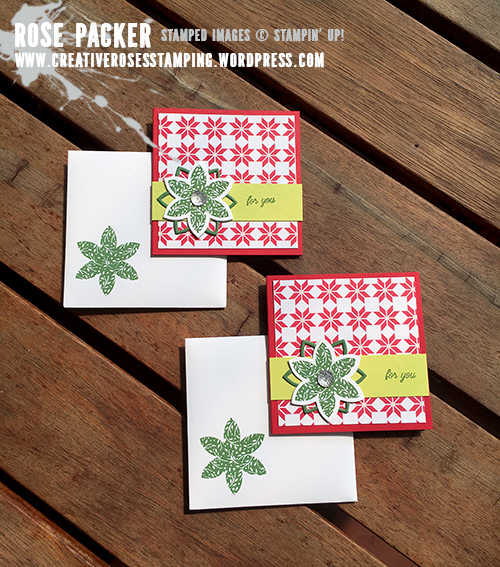 Rose Packer, Creative Roses, Stampin' Up! Quilted Christmas