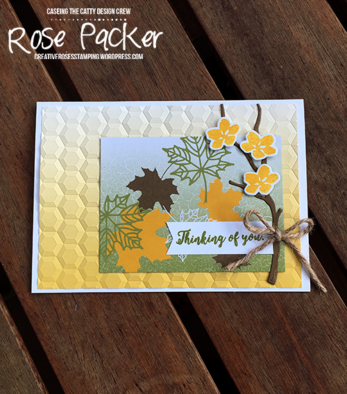Rose Packer, Creative Roses, Stampin' Up! Colour Theory Suite