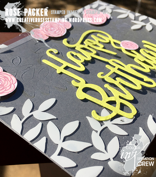 Rose Packer, Creative Roses, Stampin' Up! Naturally Eclectic, Happy Birthday Gorgeous