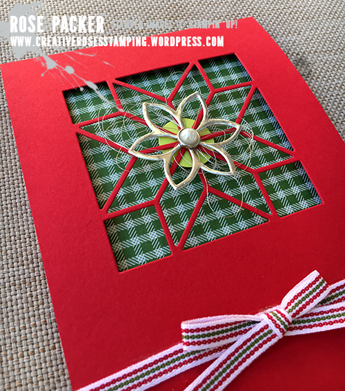 Rose Packer, Creative Roses, Stampin' Up! Quilted Christmas Suite