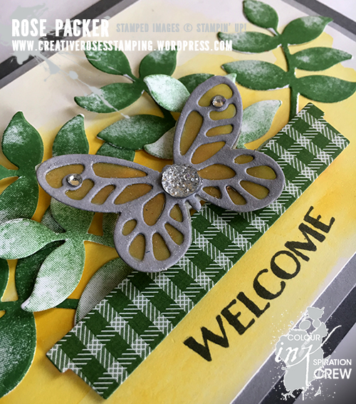 Rose Packer, Creative Roses, Stampin' Up!, Oh So Eclectic, Bold Butterfly