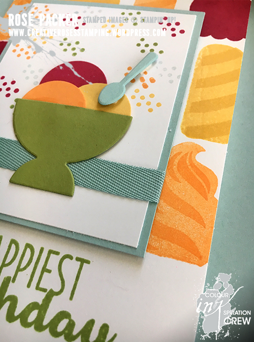 Rose Packer, Creative Roses, Stampin' Up! Cool Treats, Frozen Treats Framelits