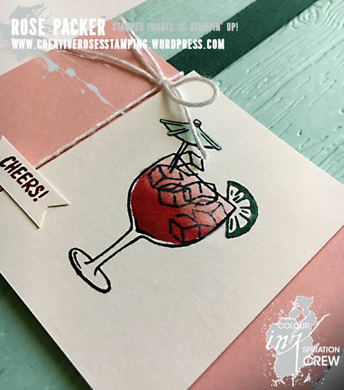 Rose Packer, Creative Roses, Stampin' Up! Mixed Drinks, Stampin' Blends