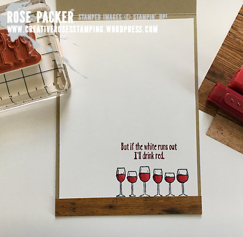Rose Packer, Creative Roses, Stampin' Up!, Half Full, Stampin Blends