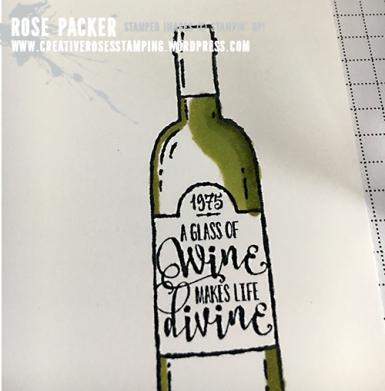 Rose Packer, Creative Roses. Stampin' Up!, Half Full, Stampin' Blends