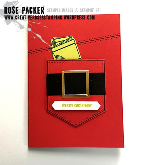 Rose Packer, Creative Roses, Stampin' Up!, Pocketful of Sunshine, Pocket thinlits